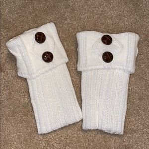 Leg warmers for boots